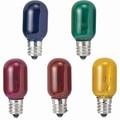 【白熱灯】【電球】《常夜灯や電飾用に最適》ナツメ球 ガラス径20mm 12mm口金用 5W