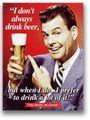★よりどり3点送料無料★アメリカン雑貨★看板★直輸入★BEER★ビールが大好きです