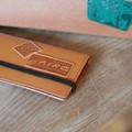 デボスステッカー(エアプレーン)deboss sticker 革テイストの型押しステッカー