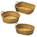 ツーハンドルバスケット/オリジナル(Fern and willow) -1050
