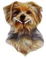 ◆英アソート対象商品◆【英国雑貨】Lark Rise Designs 犬の壁掛け時計 ヨークシャテリア(LRC17)