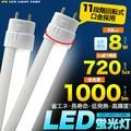 <LED電球・蛍光灯>エコな照明♪ 20W型乳白色カバーLED蛍光灯58cm(60cmタイプ) 白色