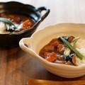 ■特価品 ■耐熱鍋 白釉両手鍋