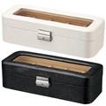 ウォッチコレクションボックス【魅せる、収納するボックス】ギフトに最適(プレゼント)<合成皮革製>