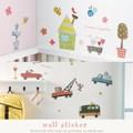 【手作り雑貨】wall sticker ウォールステッカー (SS) 3種 デコ壁