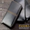 ☆DM-102☆ダイアナ ディッキー パンドラ(PANDRA) カーフ&ポニーレザー 長財布