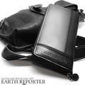 ☆ER-103☆ EARTH REPORTER カラーラインが入ったデザインのラウンドウォレット