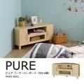 【送料無料】Pure(ピュア)テレビ台 コーナーローボード(90cm幅)NA