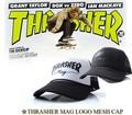 定番スケーター系ブランド♪ 【スラッシャー】 THRASHER MAG LOGO MESH CAP