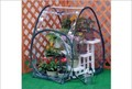【組立ていらずのワンタッチで温室の出来上がり!】 簡易温室 ガーデンハウス・S
