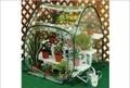 【組立ていらずのワンタッチで温室の出来上がり!】 簡易温室 ガーデンハウス・M