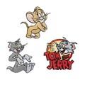【アイロン ワッペン】トムとジェリー