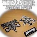 THRASHER SKATEGOAT PATCHES 15255
