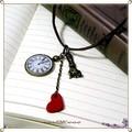 ★:*:..☆.:.*.: アリスウサギと時計のネックレス :.*.:☆:.:* ..*:.☆:*
