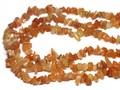 【天然石さざれビーズ】レッドアベンチュリン (小粒)90cm【天然石 パワーストーン】