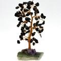 【天然石インテリア】誕生石ツリーパッケージ(ミニ) 10月 トルマリン(ブラック)【天然石 パワーストーン】