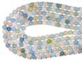 【天然石丸ビーズ】マルチベリル (アクアマリンマルチカラー)(3A) 8mm【天然石 パワーストーン】