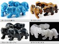 【天然石彫刻置物】虎 50mm 【天然石 パワーストーン】