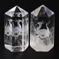【天然石彫刻置物】水晶彫刻ポイント 玄武 20×45mm【天然石 パワーストーン】