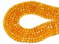 【天然石丸ビーズ】ゴールデンマザーオブパール (馬蹄貝) 6mm【天然石 パワーストーン】
