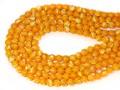 【天然石丸ビーズ】ゴールデンマザーオブパール (馬蹄貝) 8mm【天然石 パワーストーン】