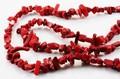 【天然石さざれビーズ】赤珊瑚 (大粒)90cm【天然石 パワーストーン】