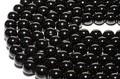 【天然石丸ビーズ】黒トルマリン (3A) 8mm【天然石 パワーストーン】