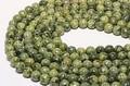 【天然石丸ビーズ】サーペンティン(蛇紋石) 6mm【天然石 パワーストーン】