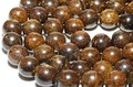 【天然石丸ビーズ】ブロンザイト 12mm【天然石 パワーストーン】