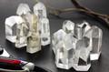 【天然石置き石】ポイント型 SS 水晶 100gパック [アソート]【天然石 パワーストーン】