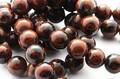 【天然石丸ビーズ】マホガニーオブシディアン 10mm【天然石 パワーストーン】