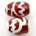【天然石天珠ビーズ】新天珠1.4cm 蓮花【天然石 パワーストーン】