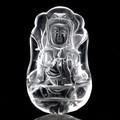 【天然石ペンダントトップ】水晶 観音彫り【天然石 パワーストーン】