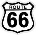 import mini sticker  GS-027 Route 66  【mini】