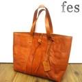 【fes】カウレザートートバッグ