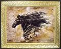【大人気の俊足アート】メキシコ女性作家 ゴットフライド マルタ アートフレーム「動物」「馬」