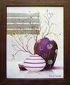 デビッド セダリア アートフレーム【モダンアート】抽象/モダン柄<樹脂フレーム>