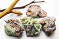 【天然石原石】カイヤナイト・イン・フックサイト (ロシア産)【天然石 パワーストーン】
