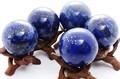 【天然石置き石】丸玉 約40mm ラピスラズリ [アソート]【天然石 パワーストーン】