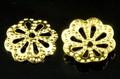 【パーツ】ビーズキャップ 花型タイプ1(金色) 9mm (6.5g/約50個入り)【天然石 パワーストーン】