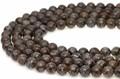 【天然石丸ビーズ】サーペンティン(蛇紋石) ブラウンカラー 6mm 天然石【天然石 パワーストーン】