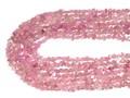 【天然石カットビーズ】トルマリン(ピンク) タンブルカット 約4x6mm【天然石 パワーストーン】