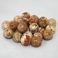 【天然石片穴パーツ】10mm ピクチャージャスパー【天然石 パワーストーン】