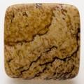 【天然石モチーフビーズ】四角形 ピクチャージャスパー【天然石 パワーストーン】
