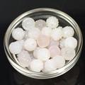 【天然石モチーフビーズ】薔薇 (丸型) 10mm ピンクアゲート【ローズ】【バラ】