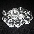 【天然石片穴パーツ】10mm 水晶【天然石 パワーストーン】