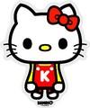 サンリオ キャラクターXパンソンワークスステッカー/SAN-06 キティ