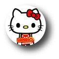 サンリオ キャラクターXパンソンワークス缶バッジ/SAN-18 キティ