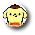 サンリオ キャラクターXパンソンワークス缶バッジ/SAN-22 ポムポムプリン