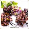 ○ パンチング シュシュポニー 小花柄  2Way 5カラー ○